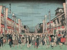 MFA--London and Edo exhibit